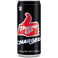 Thums Up CHARGED Soda (300 ml can)