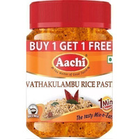 Aachi Vathakulambu Rice Paste (10.5 oz bottle)