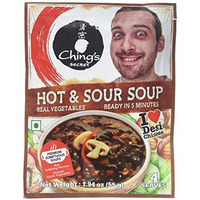 Ching's Secret Hot & Sour Soup Mix - BUY 2 GET 1 FREE! (55 gm pack)