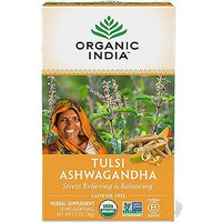 Organic India Tulsi Ashwagandha (Stress Relieving & Balancing) (18 tea bags)