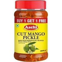 Aachi Cut Mango Pickle (10.5 oz bottle)