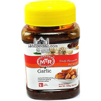 MTR Garlic Pickle (10.7 oz jar)