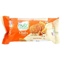 Britannia Nutrichoice Oats Cookies - Orange (75 gm pack)