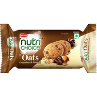 Britannia Nutrichoice Oats Cookies - Chocolate & Almond (75 gm pack)