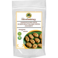 Native Food Store Kozhukattai Mix with Jaggery (500 gm pouch)
