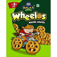 Balaji Wheelos - Masala Wheels (2.2 oz bag)