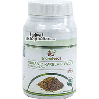 Ancient Veda Organic Kerala (Bittermelon) Powder (3.5 oz bottle)