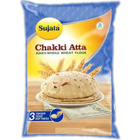 Sujata Whole Wheat Flour (Chakki Atta) - 10 lbs (10 lbs. bag)