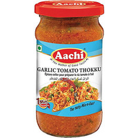 Aachi Garlic Tomato Thokku (10.5 oz bottle)