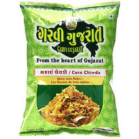 Garvi Gujarat Corn Chiwda (10 oz bag)