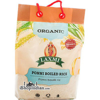 Laxmi Organic Ponni Boiled Rice - 10 lbs (10 lbs bag)
