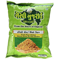 Garvi Gujarat Hot Sev (10 oz bag)