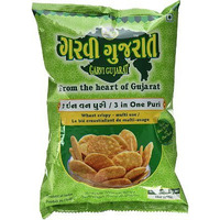 Garvi Gujarat 3 in One Puri (for Bhel) (10 oz. bag)