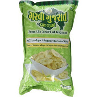 Garvi Gujarat Pepper Banana Wafers (6.35 oz bag)