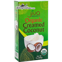 Jiva Organics Creamed Coconut (7 oz box)