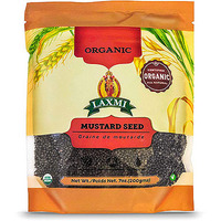 Laxmi Organic Mustard Seeds (Big) (7 oz bag)
