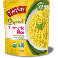 Tasty Bite Organic Turmeric Rice (Ready-to-Eat) (8.8 oz pouch)