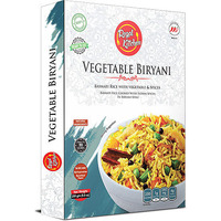 Regal Kitchen Vegetable Biryani (Ready-to-Eat) - BUY 2 GET 1 FREE! (8.8 oz box)