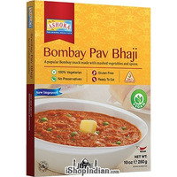 Ashoka Bombay Pav Bhaji - Vegan (Ready-to-Eat) - BUY 1 GET 1 FREE! (10 oz box)