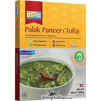 Ashoka Palak Paneer (Tofu) Vegan (Ready-to-Eat) - BUY 1 GET 1 FREE! (10 oz box)