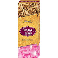 Maharani Chandan Gulab Incense - 120 Sticks (120 stick box)