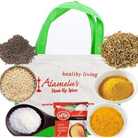 Alamelu's Start-Up Spice Package - 7 Indian Spice Kit (7 Spice Kit)