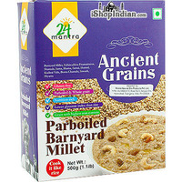 24 Mantra Ancient Grains Pearled Barnyard Millet (500 gms box)