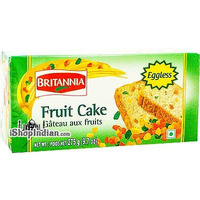 Britannia Fruit Cake - Eggless - 9.7 oz (9.7 oz box)