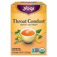 Yogi Throat Comfort Tea (16 tea bags)