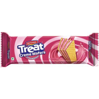 Britannia Treat Creme Wafers - Strawberry (150 gm box)