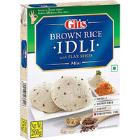 Gits Brown Rice Idli with Flax Seeds Mix