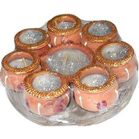 Diwali Matki Diya Set of 8 Diyas (8 diya set)
