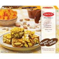 Bikaji Mango Dry Fruit Chikki (Mango & Dry Fruits Sweet) (250 gm box)