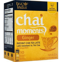 Tea India Chai Moments - Instant Ginger Tea (10 sachets box)