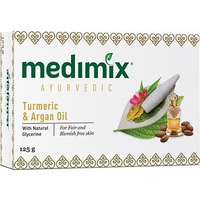 Medimix Ayurvedic Turmeric & Argan Oil Soap (125 gm box)
