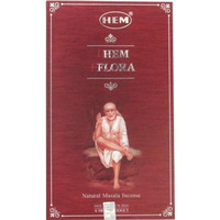 Hem Flora Natural Masala Incense - 15 sticks (15 gm sticks)