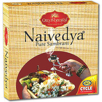 Om Shanthi Cycle Naivedya - Lobhan Sambrani (10 ct box)
