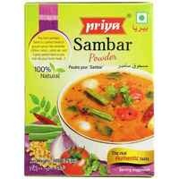 Priya Sambar Powder (3.5 oz box)