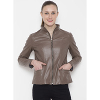 Le Alba Women Vintage Tan Jacket