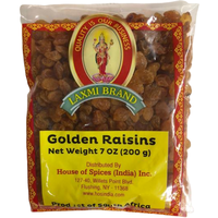 Laxmi Golden Raisins - 200 Gm