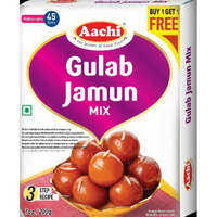 Aachi Gulab Jamun Mix - 200 Gm [Buy 1 Get 1 Free]