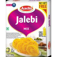 Aachi Jalebi Mix With Maker - 200 Gm [Buy 1 Get 1 Free]