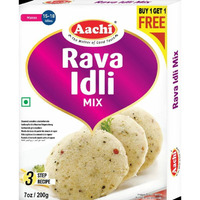 Aachi Rava Idli Mix - 200 Gm [Buy 1 Get 1 Free]