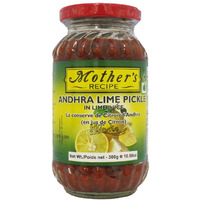 Mother's Recipe Andhra Lime Pickle (In Lime Juice) - 300 Gm