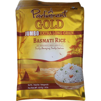 Parliament Gold Jumbo Ex Long Grain Basmati Rice - 10 Lb