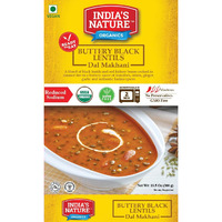 India's Nature Ready To Eat Dal Makhani Organic - 300 Gm