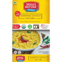 India's Nature Ready To Eat Dal Tadaka Organic - 300 Gm