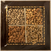 Wooden Square Dry Fruits Tray