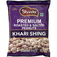 Sikandar Premium Roasted & Salted Peanuts - 400 Gm