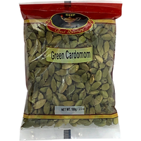Deep Green Cardomom - 100 Gm
